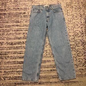 Light Blue High Waisted Levi's Jeans Levi's 550